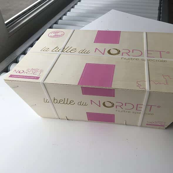 Packaging, Bourriche d'huîtres