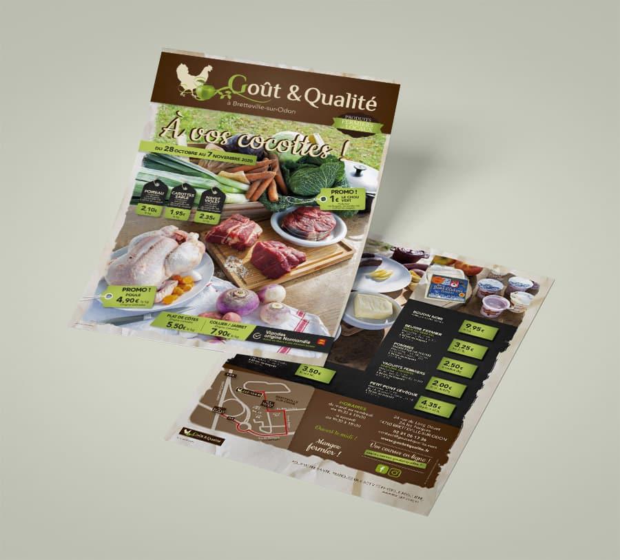 Tract Goût & Qualité, Print IPSO